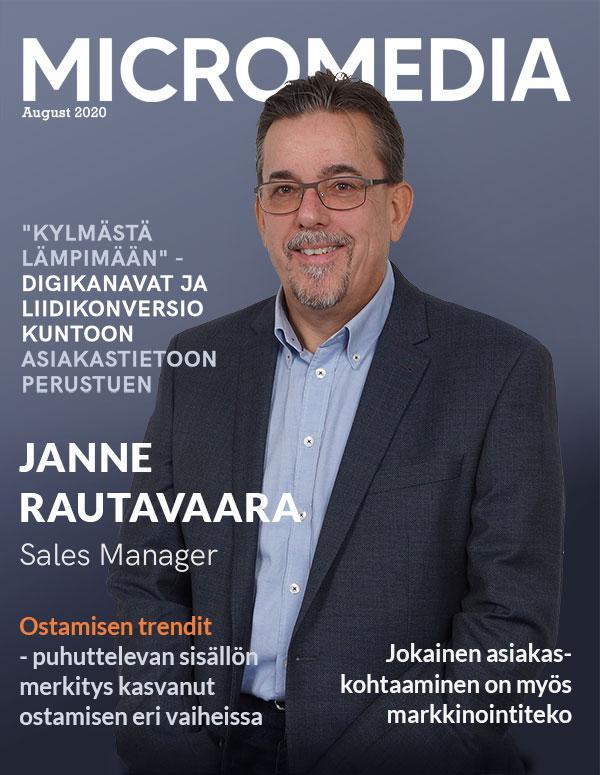 Janne Rautavaara Micromedia