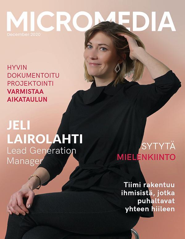 Jeli Lairolahti Micromedia