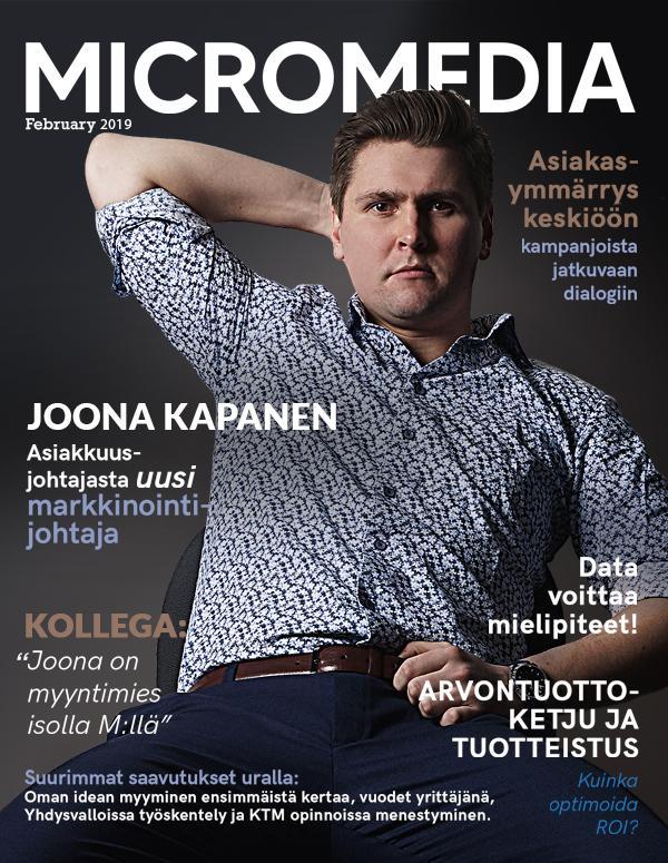 Joona Kapanen Micromedia
