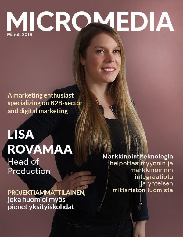 Lisa Rovamaa Micromedia
