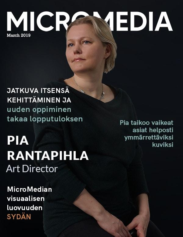 Pia Rantapihla Micromedia